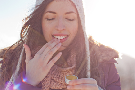 Lippenpflege im Winter