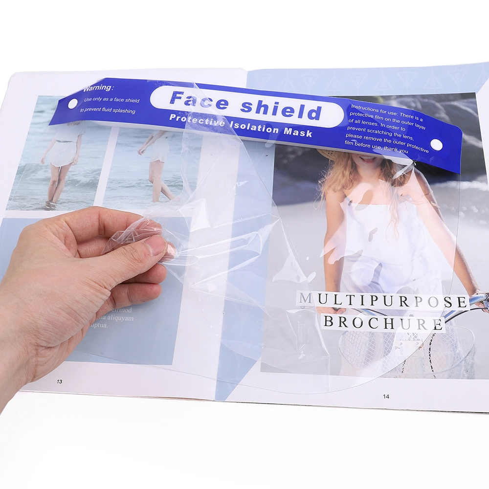 Gesichts-Schutzschild - schützt das gesamte Gesicht wirksam vor Flüssigkeiten