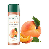 190 ml Flasche Biotique Bio Aprikose Duschgel