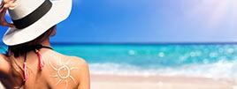 Hautpflege im sommer